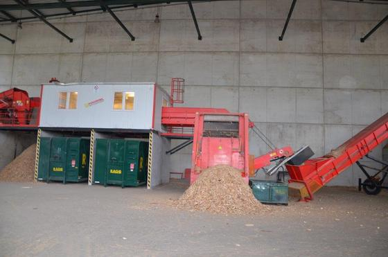 Complete Waste Wood Recycling Plant