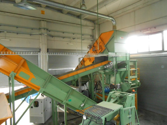 Used Tyres Recycling Plant