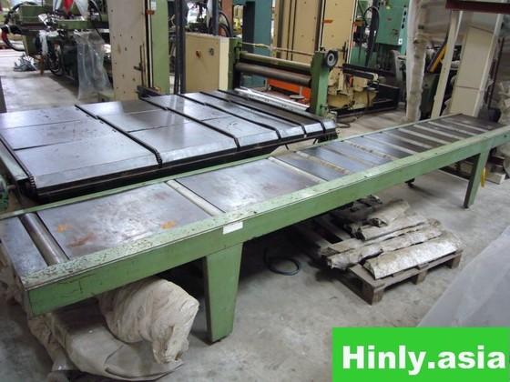 Multi-Rip Return Conveyor System in