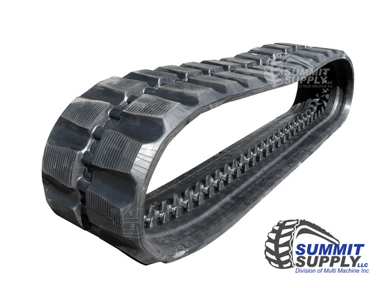 """16"""" 400mm WIDE RUBBER TRACK"""