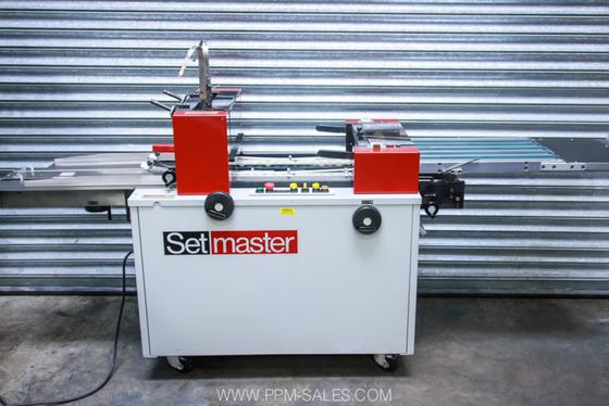 Setmaster Bookletmaker £3250.00 + VAT
