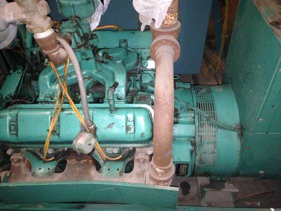 Onan 75 KW Generator-/Surplus in Newport News, VA, USA