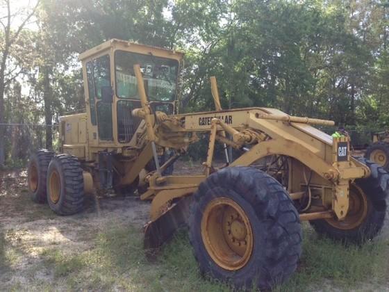 Used 1988 Caterpillar 12G Grader