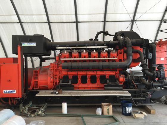 Used Jenbacher J612GSC01 Generator Set