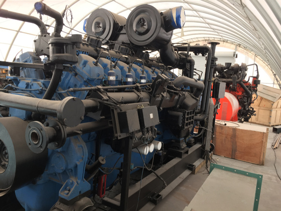 Used Dorman 16SETCWG140 Generator Set