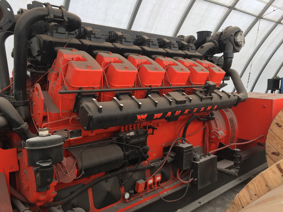 Used Waukesha L5792DSU Generator Set