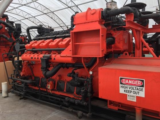 Used Waukesha L7042GL Generator Set