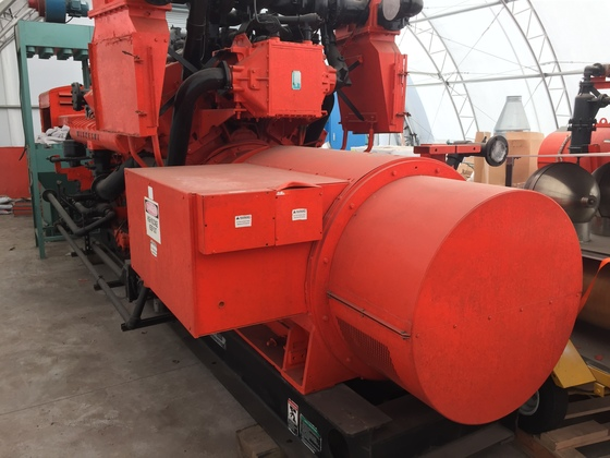 Used Waukesha 7042GL Generator Set