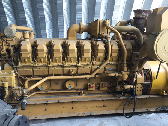 Used Caterpillar 3516 Generator Set