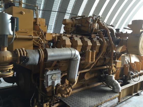Used Caterpillar 3512 Generator Set