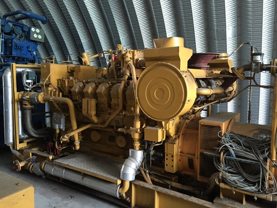 Used Caterpillar 3512 Generator Set