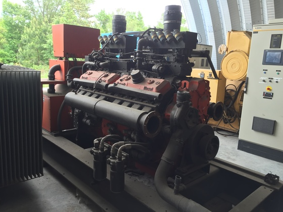 Used Detroit 16V92SPI-270 Generator Set