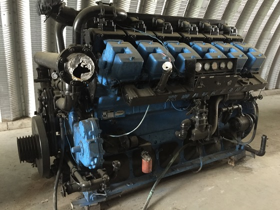 Used Waukesha L7042GU Generator Set