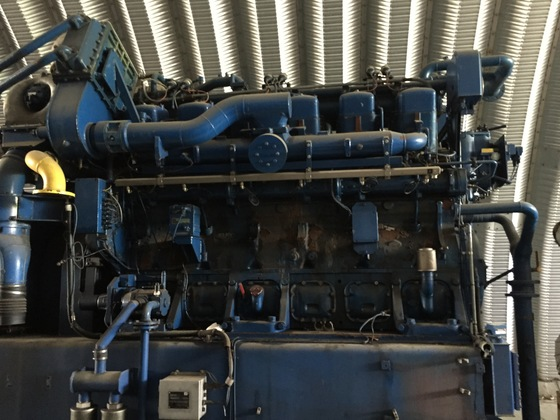 Used Deutz TBG441CV12 Generator Set