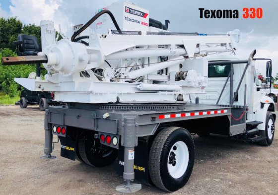 Pressure Diggers For Sale, Texoma 330, Auger Drill Trucks For Sale,  Pressure Digger For Rent in Florida, USA