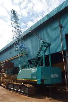Kobelco BM500 CRAWLER CRANE FOR SALE in Singapore
