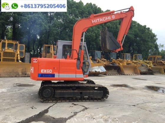 6 ton mini Japan excavator Hitachi EX60-1 with ISUZU engine for sale