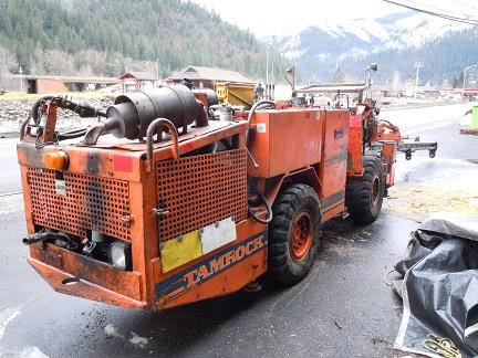 Sandvik Tamrock Quazar F1 Electric Hydraulic 1 Boom Drill