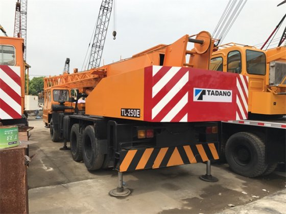 Japan original 25 ton tadano truck crane for sale in Shanghai, China