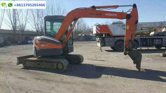 5 ton mini Japan excavator Hitachi ZX55UR for sale, 5 ton Hitachi