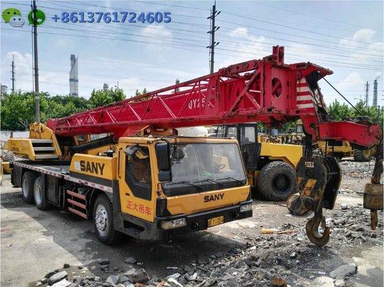 25 ton Sino mobile crane SANY QY25C for sale, 2012 SANY truck crane