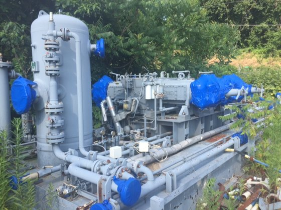 2010 Ariel Gas Compressor Model JGT-4-1 Stage S/N F-33163 Size 6 x 6 x 6 x  6 ET 1270 LB Cylinders complete with VVCP'S in Bakersfield, CA, USA