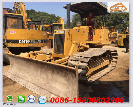 Bulldozers For Sale >> Cat Mini Bulldozer Caterpillar D3c Dozer For Sale In Shanghai China