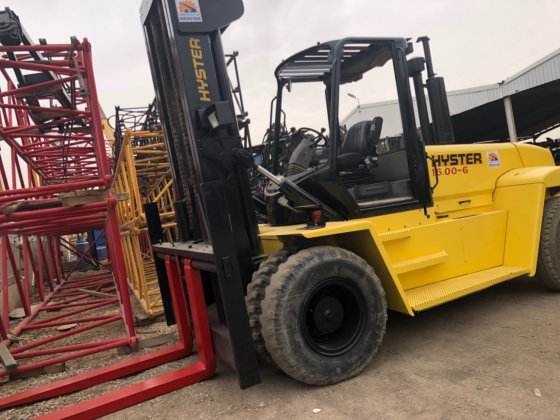Hyster Forklift 16 22-6 Capacity: 16 ton in Saudi Arabia