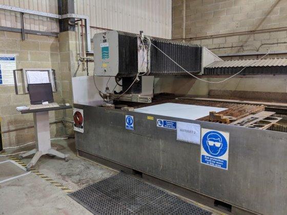 Flow IFB 3020 Waterjet Machine in United Kingdom