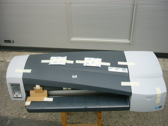 HP - Plotter, Modell Designjet 111/N in Germany