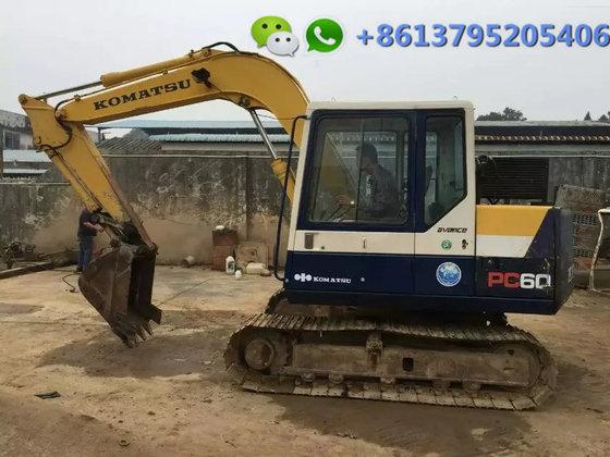 6 ton original Komatsu excavator PC60-6
