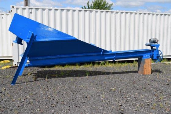 shaftless screw conveyor, shaftless spiral conveyor, shaftless