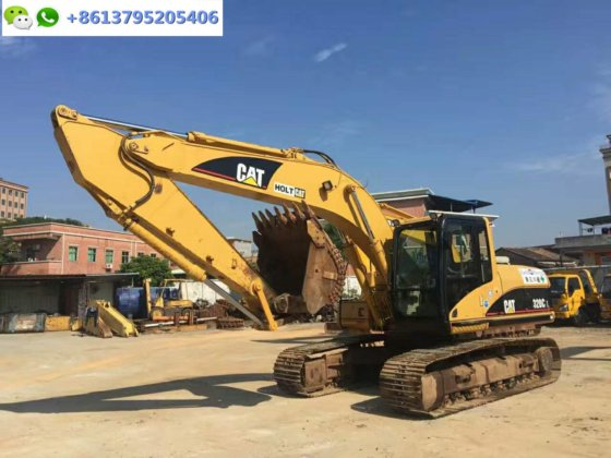 very good 20 ton Japan excavator CAT 320CL, 320C for sale in