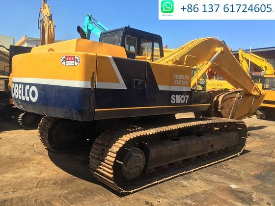 Japan Kobelco excavator Kobelco SK07 with good quality for sale, bucket  size 0 7M3, operate weight 18000kgs in Shanghai, China