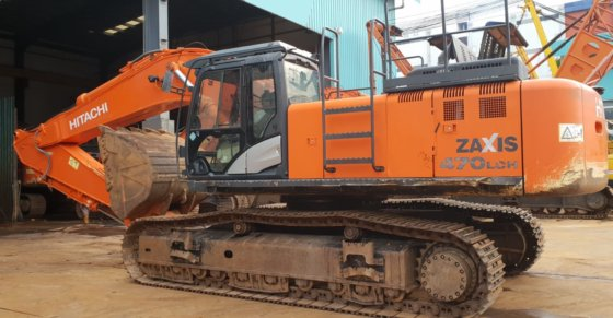 HITACHI ZX470LCH-5G EXCAVATOR FOR SALE in Singapore