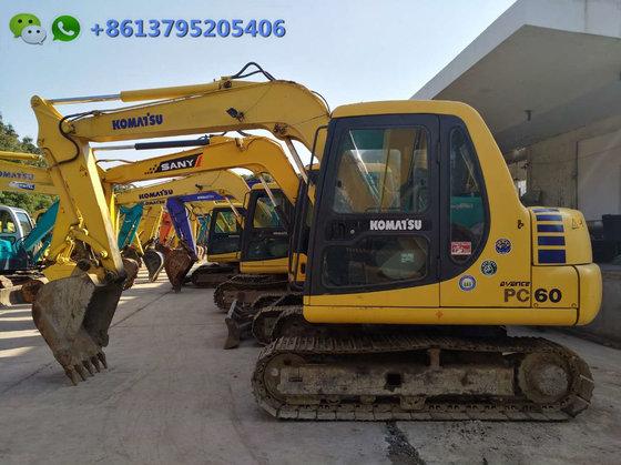 6 ton mini excavator Komatsu PC60-7 for sale, Japan surplus 6 ton