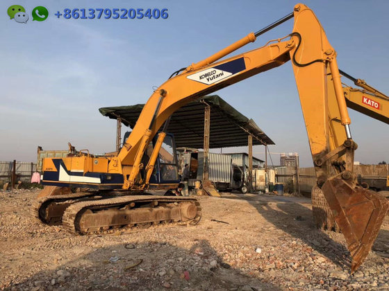0 7m³ original Japan excavator Kobelco SK07 for sale, 18 ton
