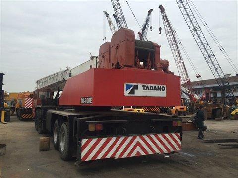 very good quality japan original tg700e tadano 70 ton crane in rh machinio com Kato Crane Catalog Kato Excavator Dealer