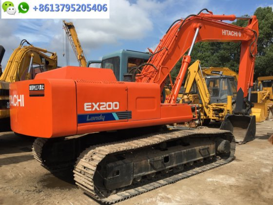20 ton Japan excavator Hitachi EX200-1 with ISUZU engine for sale in
