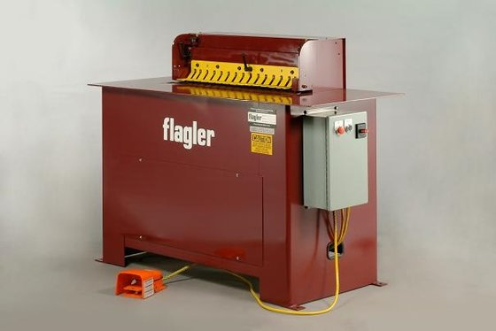 Flagler Air Operated Cleatfolder Machine