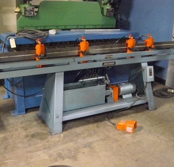 Lockformer TDC Hydraulic Duct Notcher