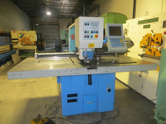 1997 Euromac CNC Punching Machine