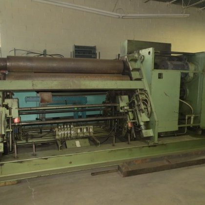 1975 Hauesler 4-Roll Double Pinch