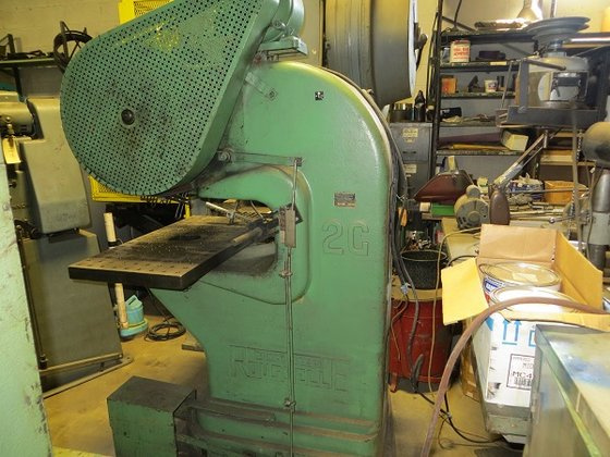 Rousselle 2G Gap Power Press