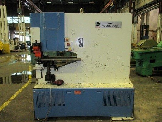Mubea HP 1000/760 Hydraulic Punch