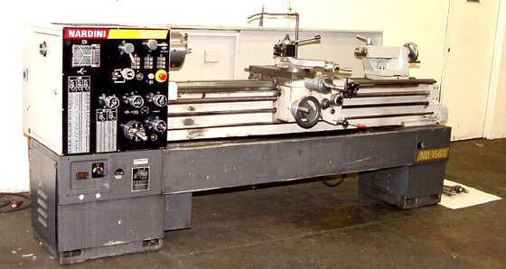 2000 Nardine Engine Lathe Model