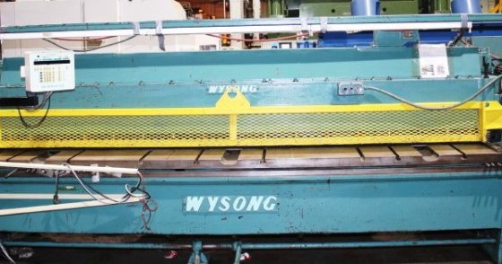 Wysong Mechanical Power Shear #2771