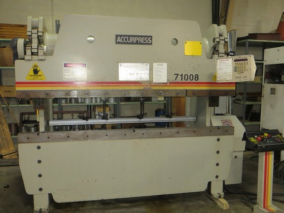 1993 Accupress CNC Hydraulic Press