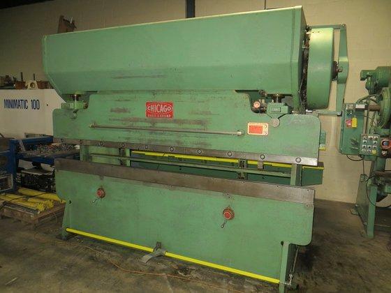 Chicago 810L Mechanical Press Brake