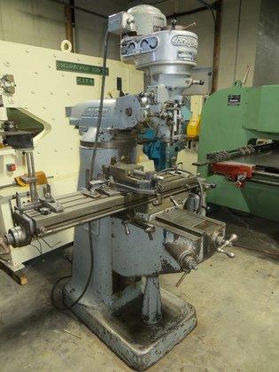 Bridgeport Milling Machine #2777 in